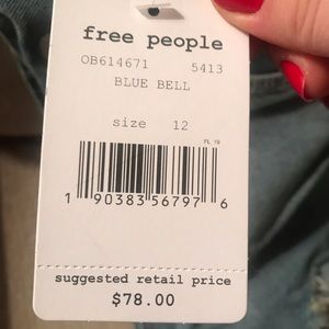 Free People Overall Skirt